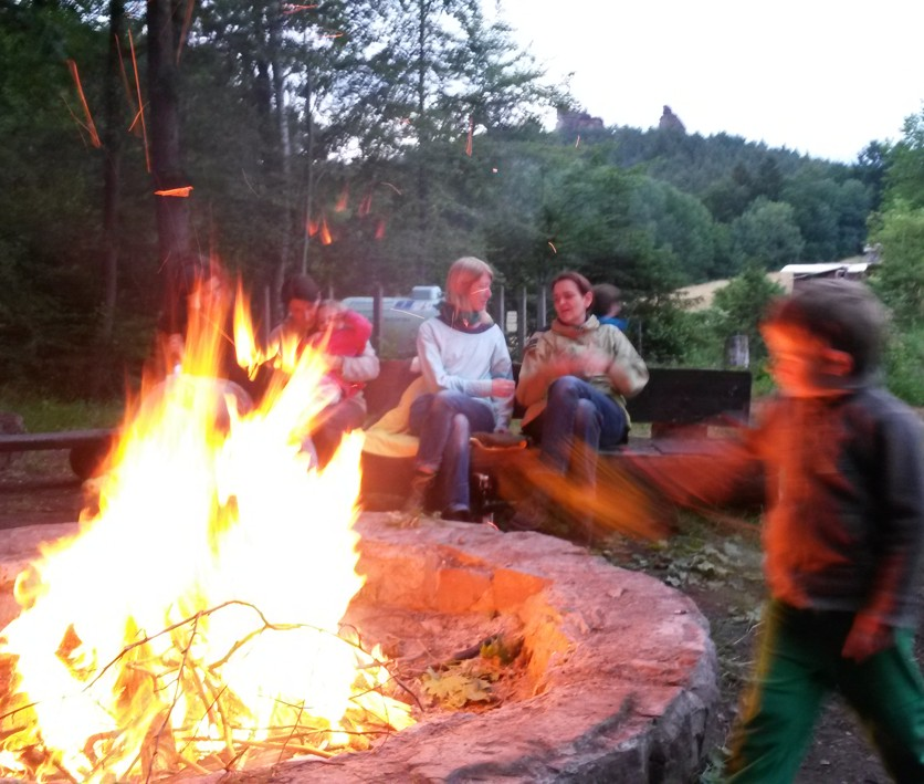 Familiengruppe Feuer